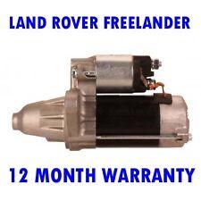 Land rover freelander 1.8 1998 1999 2000 2001 - 2006 starter motor