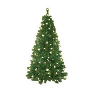 Pre lit Half Hang Christmas Tree - Indoors