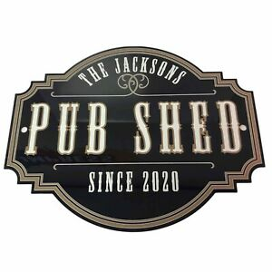 Personalised Home Garden Pub Shed Sign | Home Pub Sign | Garden Sign | Home Bar