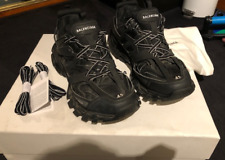 Balenciaga Track Black Trainers size 8 UK 42 EU Authentic With Box