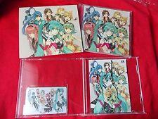 MIKU HATSUNE VOCALOID CD + CARD + MASCOTS / EXIT TUNES PRESENTS Vocalonexus feat