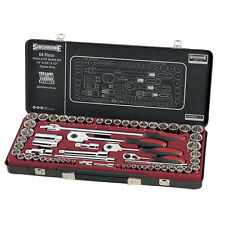"Sidchrome 64 piece 1/4"", 3/8"",1/2"" Drive Socket Set limited edition black kit"