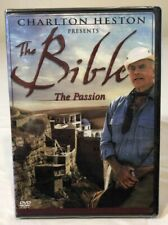 Charlton Heston presents THE BIBLE - THE PASSION New SEALED! DVD TimeLife