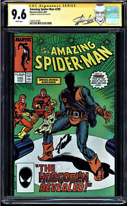AMAZING SPIDER-MAN # 289 CGC 9.6 WHITE SS STAN LEE 1ST APP NEW GOBLIN 1203277030
