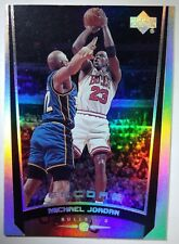 MICHAEL JORDAN 1998 UPPER DECK ENCORE #111 HOLOFOIL REFRACTOR LIKE CARD BULLS MJ