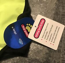NEW TOP PAW Reflective Outdoor  Cooling Vest for Dogs Size  XL  Neon