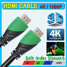 High Speed 2.0 UHD HDMI Cable 3D 2160P 4K X2K at 30Hz 1080P HDTV RoHS CE