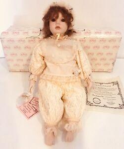 "Show Stoppers Florence Maranuk Collection Cordelia 22"" Doll COA LTD 196/2500 Box"