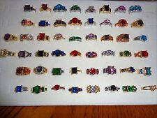 Wholesale lot 50 PC gold filled rings free shipping