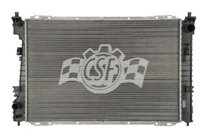 Radiator-1 Row Plastic Tank Aluminum Core CSF 3532