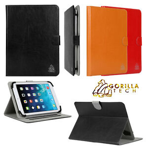 Gorilla Tech Universal Book Case Leather Stand Flip Cover for All iPads Tablets