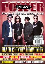 Power Play Rock & Metal Magazine September 2017 Black Country Communion-Epica...