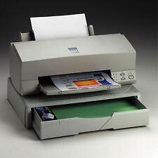 Supporto porta stampante fax fino a 20 kg con cassetto robusto per carta grigio