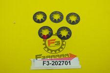 F3-22202701 FERMO fissaggio paraspruzzi Posteriore  Vespa PX 125 150   kit 5 pz