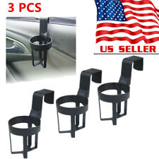 3x Universal Car Truck Drink Water Cup Bottle Can Holder Door Mount Stand Us