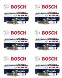 Porsche Cayenne Bosch Spark Plugs 7432 99917023390 Set of 6