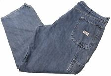 WRANGLER Mens Jeans W42 L30 Blue Cotton Straight Carpenter EG02