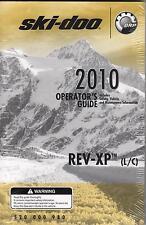 2010 SKI-DOO SNOWMOBILE REV-XP (L/C)SERIES OPERATOR MANUAL P/N 520 000 980 (845)
