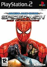 PS2 SPIDERMAN SPIDERMAN - Web of ombres rarité Jeu Pour PLAYSTATION 2 NOUVEAU