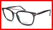 809a800134 ZILLI Eyeglasses Frame Acetate Titanium Black France Hand Made ZI 60017 C02