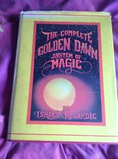 Complete Book Of Golden Dawn Magic Signed By  Regardie  Hardcover
