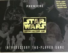VINTAGE: 1995 STAR WARS PREMIERE CUSTOMIZABLE CARD GAME SET NO. 40360 COMPLETE