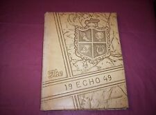1949 Central Echoes Ashland City School-Ashland City, Tennessee YEARBOOK