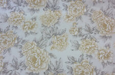PENROSE BUTTERCUP  FABRIC By Ashley Wilde Designs~ 100% Cotton Satin