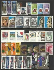 Malta 43 Different Stamps All Mint Unhinged MUH Lot 4