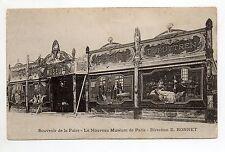 Thémes MANEGES Fetes foraines Attractions PARIS le NOUVEAU MUSEUM E. Bonnet 2