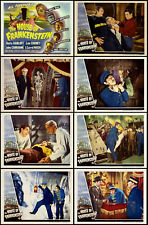 HOUSE OF FRANKENSTEIN BORIS KARLOFF Ful Set OF 8 INDIVIDUAL 11x14 LC PRINTS 1944