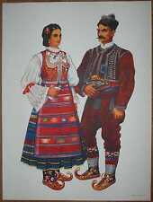 Serbia Folk Costume - Sumadija - II/01