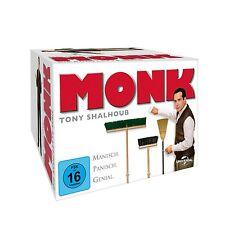 Monk - Die komplette Serie [32x DVD] DEUTSCH *NEU* Season Staffel 1-8