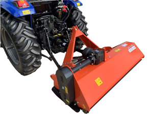Tractor Flail Mower with Hydraulic Side Shift 175cm