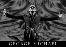 George Michael poster - #13a - Signed (copy) - A4 (297mm x 210mm)