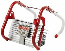 Kidde 468094 25ft 3-Storey Fire Escape Ladder, Red/White