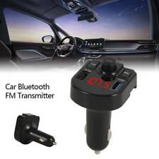 Handsfree Bluetooth Transmitter Car Kit FM Radio MP3 Player/USB Charger Adapter