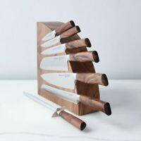 Oak Knife Block - Professional Chef Equipment, knife Holder, Organiser
