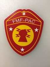 U. S. Marine FMF-PAC Decal Sticker