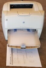 HP LaserJet 1200 Series Laser Printer Pg Cnt 125394 w/ Tray, Dust Cover, & Cords