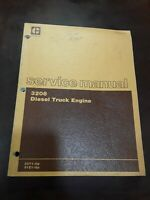 Caterpillar 3208 Diesel Truck Engine Service Manual SEBR0514-01 32Y1-UP 51Z1-UP