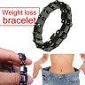 Mens Magnetic Therapy Bracelet Silver BIO Bangle Arthritis Pain Relief Health