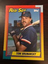 1990 Topps Traded Tom Brunansky Boston Red Sox #15T