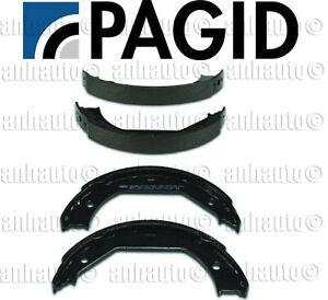PAGID Set Parking Brake Shoes  for BMW E39 E46 E82 E90