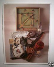 Vintage 1993 Henry Groskinsky Rare Treasures 1st Edition Baseball Print
