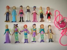 DISNEY W.I.T.C.H. WITCH FIGURINES & HEART OF KANDRAKAR SET FIGURES COLLECTIBLES