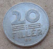 20 Filler Spighe del 1975 - Ungheria -Splendida CC -  n. 875