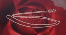 Collane e pendagli di metalli preziosi senza pietre maglie in argento