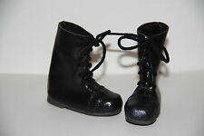 Jasmines Cottage Tomecia Black Leather Doll Boot SD 70mm fits Wiggs & Lasher
