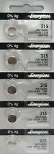 315 Energizer Watch Batteries 5 Pk